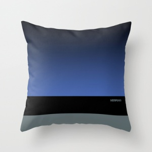 "MSTRPLN Minimal Sneaker Project Throw Pillow ""FOAM"""