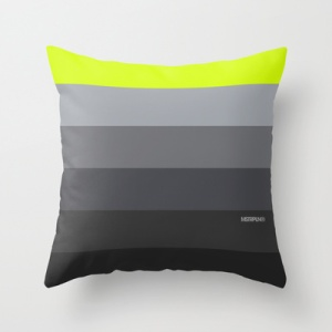 "MSTRPLN Minimal Sneaker Project Throw Pillow ""95"""