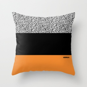 "MSTRPLN Minimal Sneaker Project Throw Pillow ""SAFARI"""