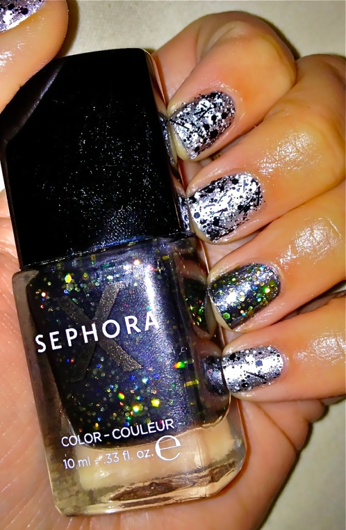 SEPHORA X Explosive accent nail