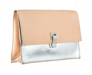 Small Lunch Bag Sorbet/Silver $765